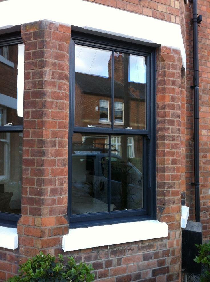 UPVC Sash Grey window - fantastic quality and stylish