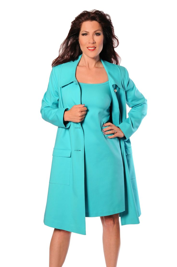 Here is our brand new Swing Coat paired with our Kate Dress! An amazing outfit for that up coming girls day, all your friends with be jealous!