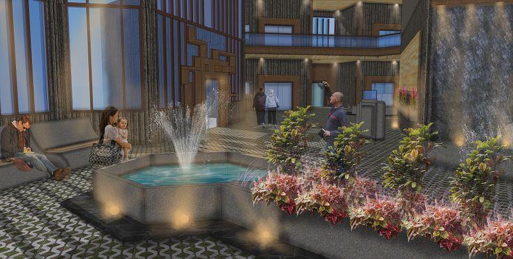 Golontor City Apartment - Lobby Interior