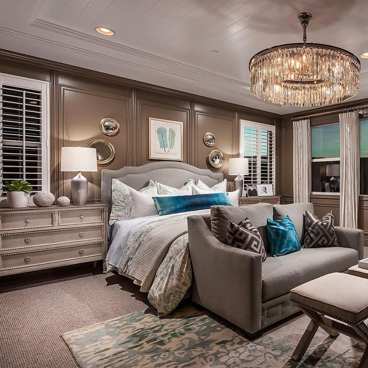 One of my all time favorite bedrooms! By Toll Brothers #manchesterwarehouse