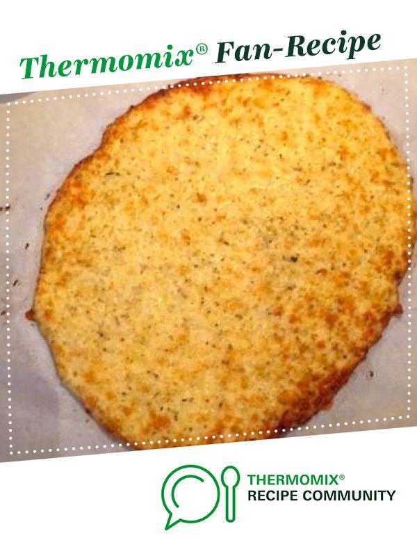 Beste Cheesy Cauliflower Pizza Base von KrissyB. Ein Thermomix ® Rezept in der …   – thermomix