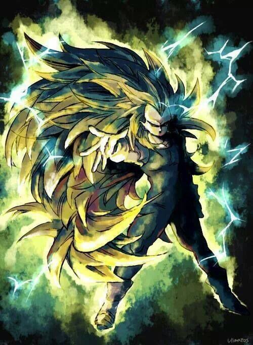 Vegeta art. super Saiyan 3. Alternate Art style