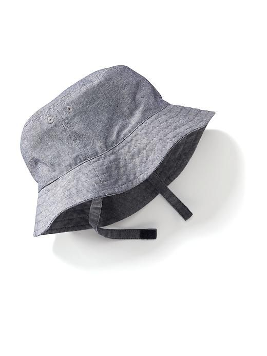 Chambray Bucket Hat for Baby