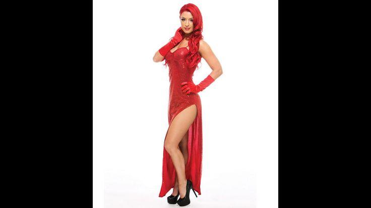 wwe divas red haired girl naked
