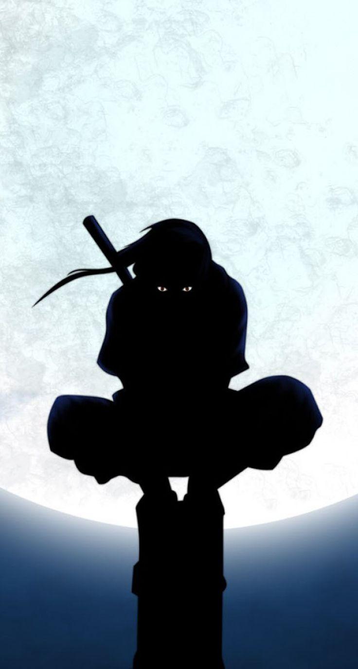 Naruto Uchiha Itachi Silhouette
