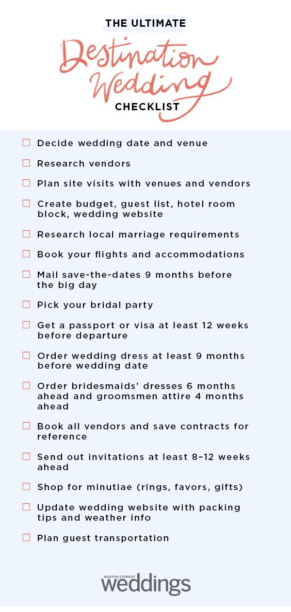 The Ultimate Destination Wedding Checklist Wedding Checklist Destination Wedding Checklist Wedding Event Planning