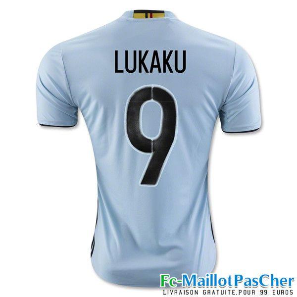 le nouveau maillot de football euro 2016 belgique blanc lukaku 9 exterieur