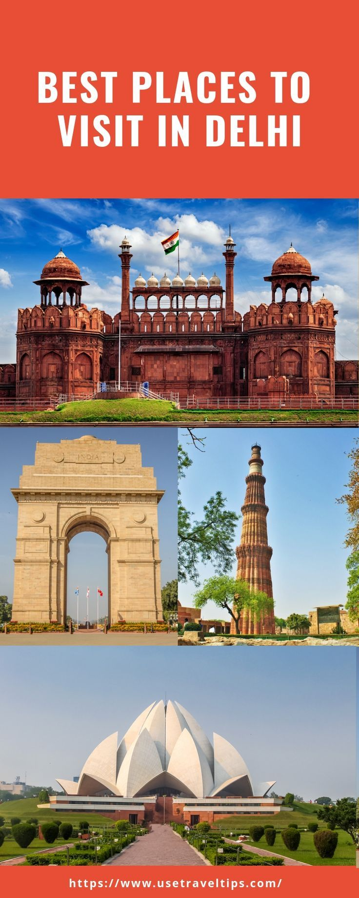 Top 10 Attractions To Visit In Delhi India Cool Places To Visit Travel Places To Visit