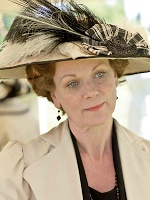 Lady Rosamund Painswick. (Samantha Bond) Lady Rosamund is Robert's only sibling.