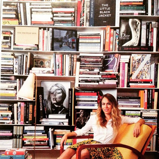 Nina Flohr's Heywood Hill curated library