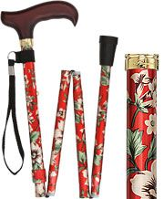 Folding Walking Canes for Women - Folding Ladies Canes - Womens Folding Canes | FashionableCanes.com