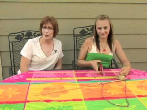 How to make a huge bubble wand