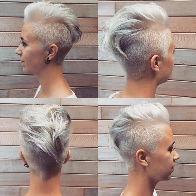 28 Trendy Faux Hawk Hairstyles For Women 2021 Pretty Designs Hair Styles Faux Hawk Hairstyles Short Hair Styles