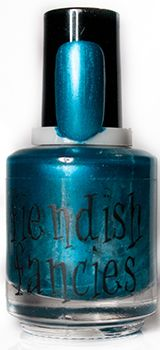 F.7-01: Number One Fan Bright Forget-me-not Blue with a subtle pearl sheen. Inspired by the misery of rainy-day blues and obsessed fans. Opaque in 2 coats.: The Tainted Love Collection ~ Inspired by movies about obsession and love gone wrong. Coming February 2016