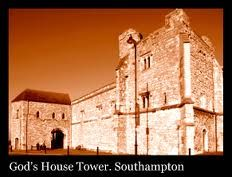 The infamous God's House Tower, Southampton. Investigated by the Haunted Southampton team - captured an interesting image here - is it a ghost ?
