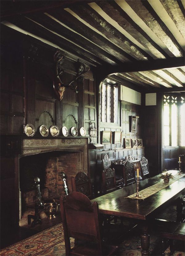 This reminds me of a very nicely decorated servant's dining area.