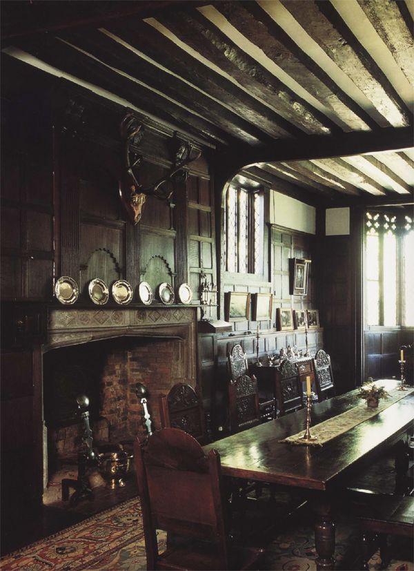 Tudor Oak Panelled Room