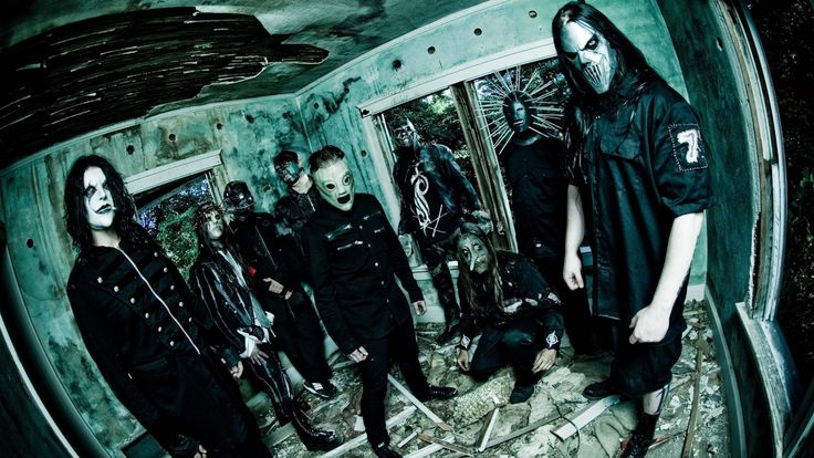 Slipknot, Top music artist and bands, Corey Taylor, Mick Thomson, Jim Root, Craig Jones, Sid Wilson, Shawn Crahan, Chris Fehn