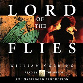 """Another must-listen from my #AudibleApp: """"Lord of the Flies"""" by William Golding, narrated by William Golding."""