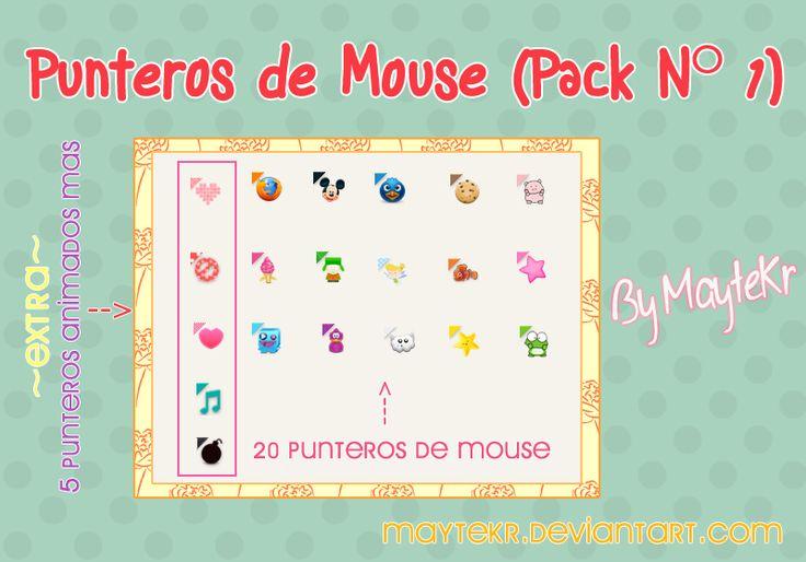 Punteros de mouse Seleccion normal Pack 1 by MayteKr.deviantart.com on @DeviantArt