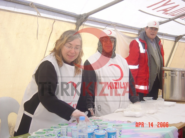 Türk Kızılayı Gönüllülük Çalışmaları
