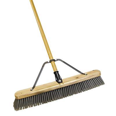 Quickie Bulldozer 18-in Poly Fiber Push Broom