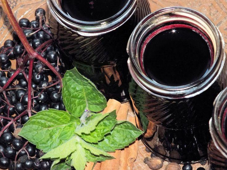 Rozgrzewający syrop z czarnego bzu - zdjęcie 3