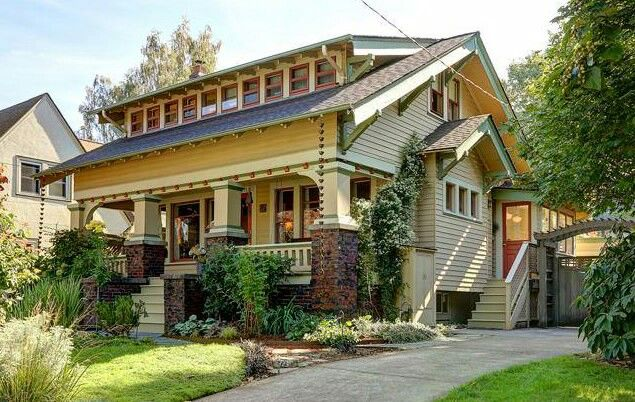 879 best images about craftsman homes on pinterest for California bungalow vs craftsman