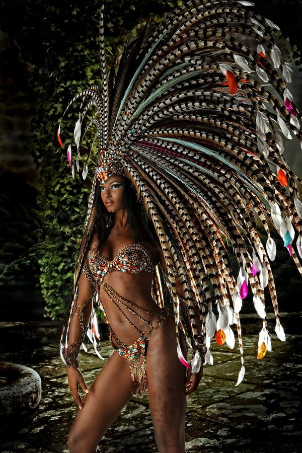 Model: Soowan Bramble Harts 2014 Trinidad and Tobago Carnival