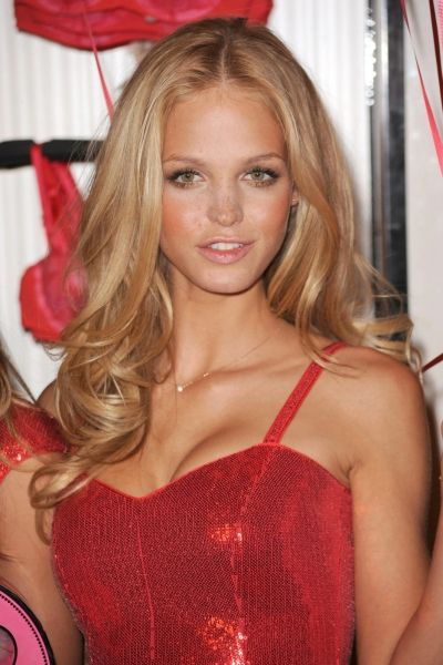 Erin Heatherton. I'm growing my hair this long!