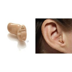 Mini-canal (MC) hearing aids. These hearing aids fit into the ear canal, and protrude only very slightly – so they are hardly noticeable.