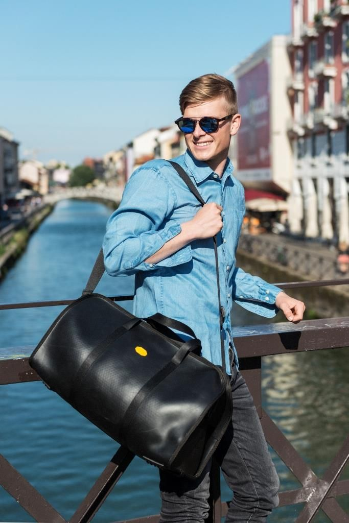 This travel bag from Vibram Luxury Rubber Bags collection will be your perfect companion for enjoying the weekend.