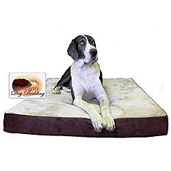 @Overstock - Treat your extra-large pet like a king with a memory foam dog bedThis pet bed offers the ultimate in comfort and supportThis bed is built with a double-dense base layer, medium-soft center layer and a soft memory foam top  http://www.overstock.com/Pet-Supplies/Extra-large-Orthopedic-Memory-Foam-Dog-Bed-36-in.-x-52-in./4583622/product.html?CID=214117 $125.99