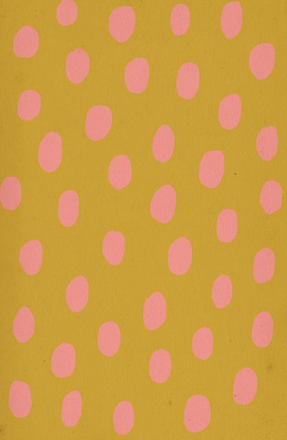 dotsLow Contrast, Pink Dots, Colors Combos, Color Combos, Contrast Pattern, Pattern Design, Dots Pattern, Ashley Goldberg, Mustard Yellow