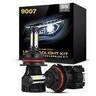 420W 42000LM 9007 HB5 LED Headlight Lamp Bulb Conversion Kit High Low beam 6000K