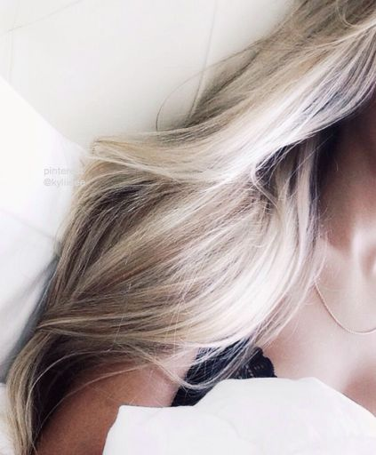 The blonder, the softer which in turn makes you look years younger:P goals in life!!! LOL