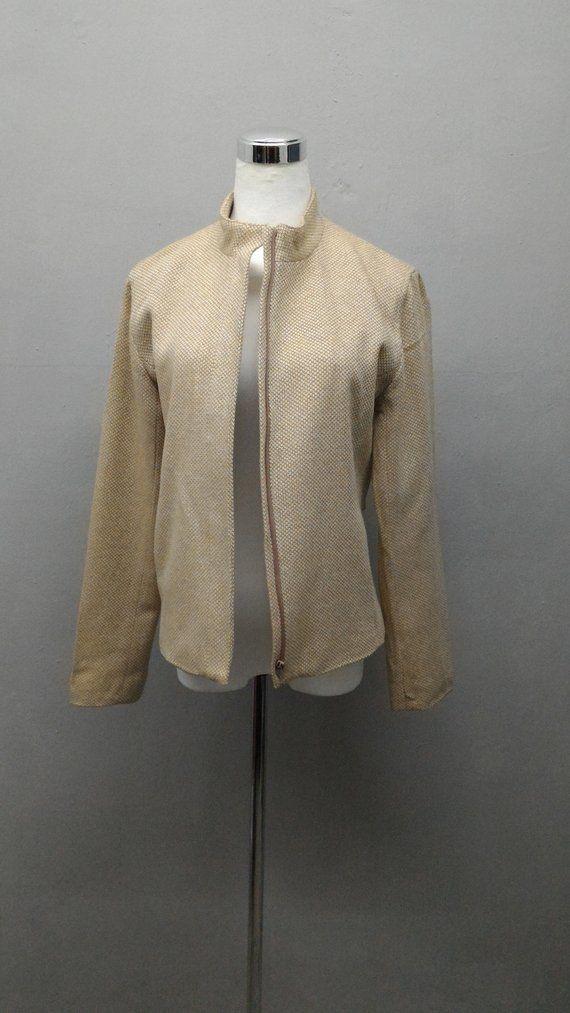 e71244a722 Sonia Rykiel Tweed Jacket Women Casual Coat Autumn Outwear Short Woolen  Coat Female Streetwear | Abery Etsy Shop | Tweed jacket, Coats for women,  Tweed