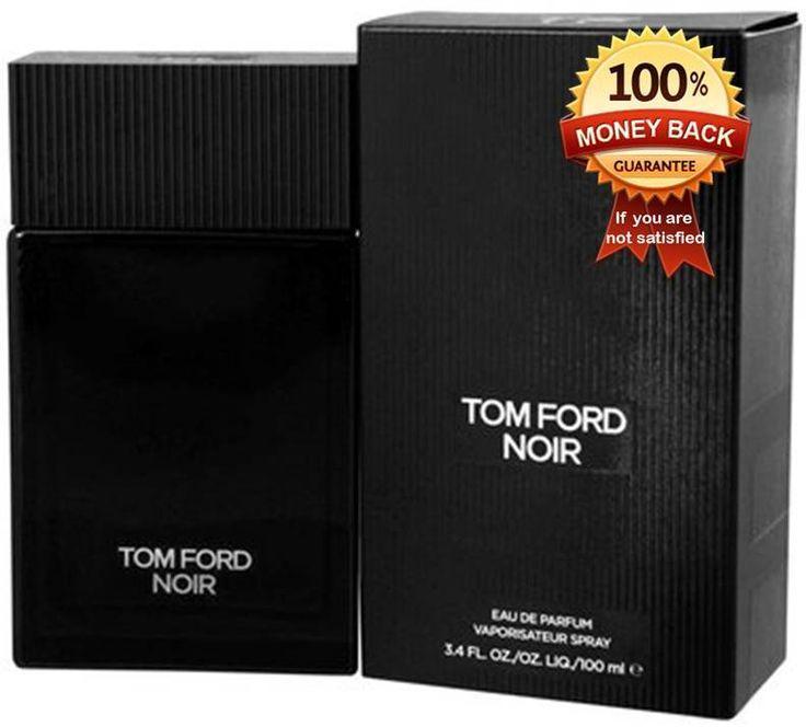 Noir Tom Ford for men De Perfume Eau   3.4oz 100ML New In Box Sealed #TomFord