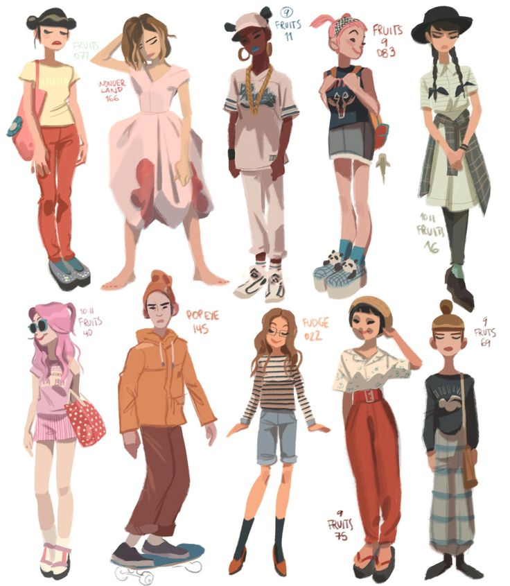 Anna Cattish — Some characters I did for amazing Rad Sechrist's...
