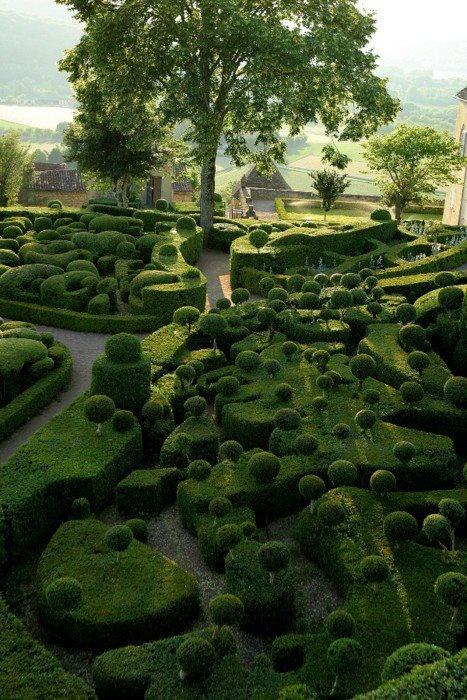 Les jardins suspendus de Marqueyssac, Dordogne, France
