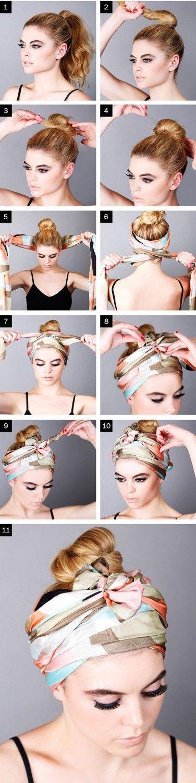 Cet été, vous n'aurez besoin que de votre headband et de votre foulard pou…