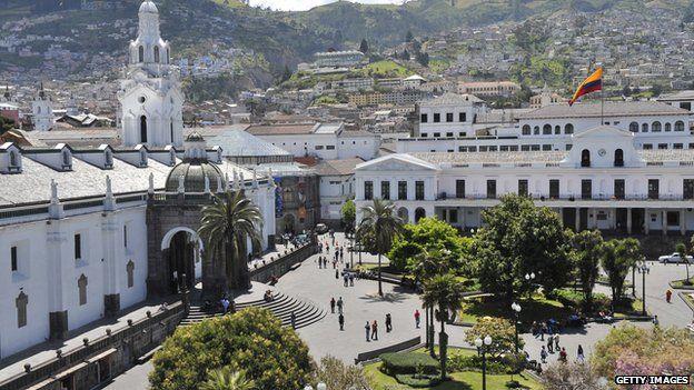 Presidential Palace Quito Ecuador