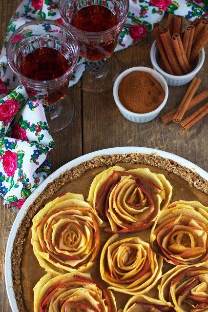 Tarta z Jabłkami w Kształcie Róż Just My Delicious