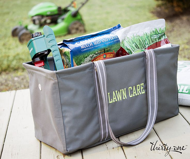 Your lawn care supplies are no match for our Large Utility Tote.