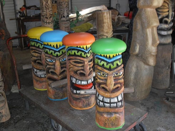 Tropical Bar Stools