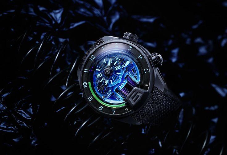 Mecánico, nanopartículas, líquidos, sólidos, luminiscencia... Simplemente déjate cautivar por el H4 NEO de HYT Watches ¡Un reloj para destacar! #klokker #Hyt #relojería #style #menstyle #men