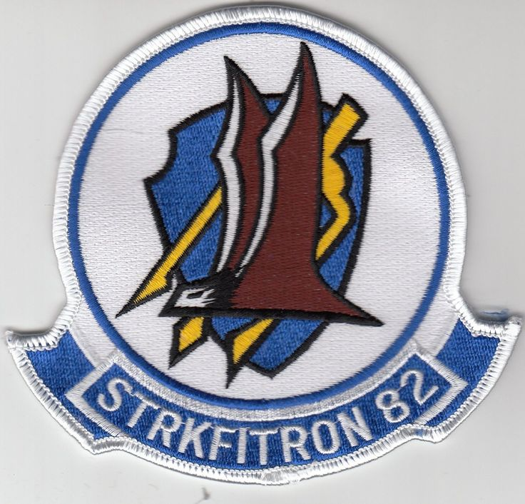 VFA-82 COMMAND CHEST PATCH