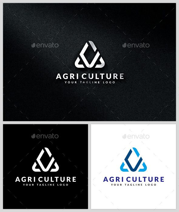 Agri Culture  Logo Template — Vector EPS #A logo #fast • Available here → https://graphicriver.net/item/agri-culture-logo-template/13690099?ref=pxcr