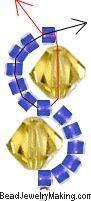 Beaded Crystal Bracelet - June 2005