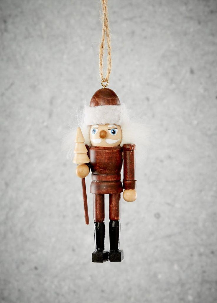 Nutcracker Christmas Tree Decoration (10cm x 4cm)